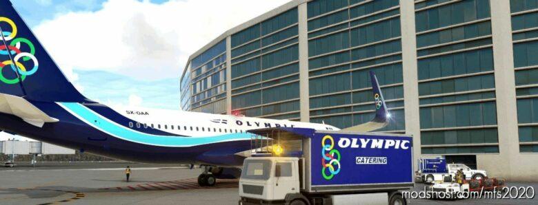 Olympic Catering_Ground Crew for Microsoft Flight Simulator 2020