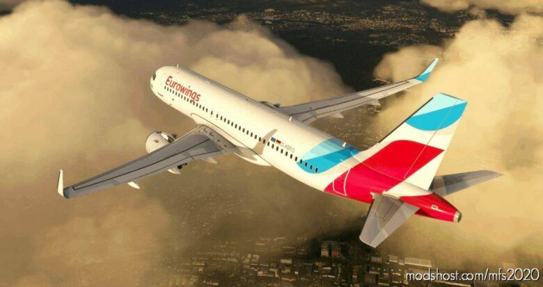Eurowings FBW A32NX (D-Abfo) – 10K V1.1 for Microsoft Flight Simulator 2020