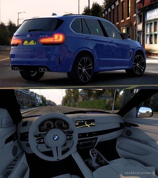 BMW X5M F85 V2 [1.41.X] for Euro Truck Simulator 2