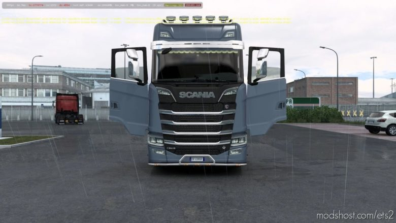 ALL Scania Trucks Door Animation Mod [1.41.X] for Euro Truck Simulator 2