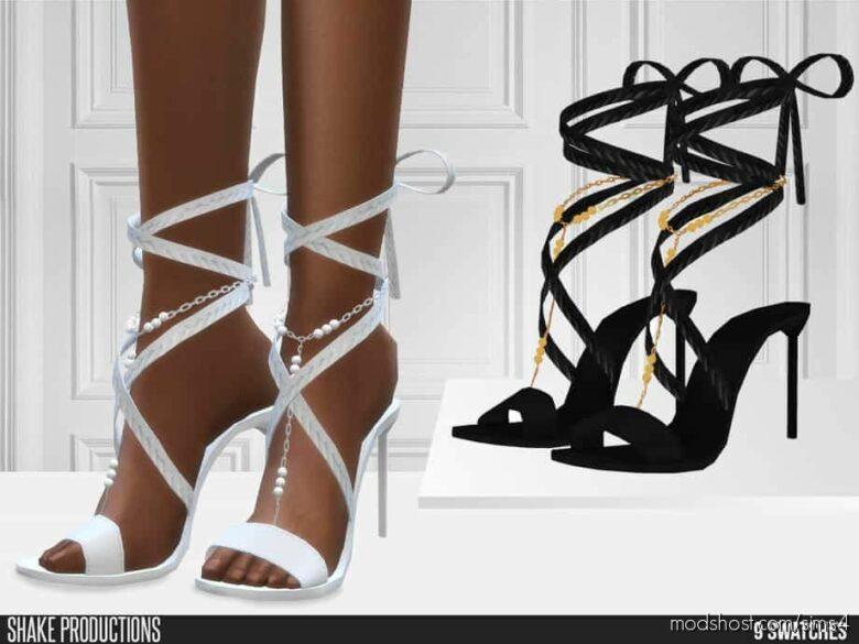 Bohemian Wedding – Wedding Heels for The Sims 4