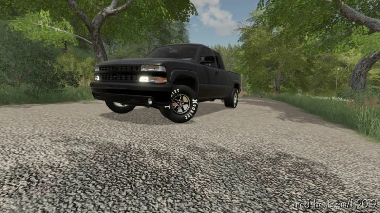 2002 Silverado Street Truck for Farming Simulator 19