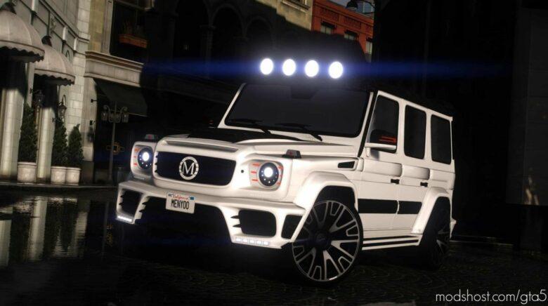 Mercedes Benz G63 Gronos Mansory for Grand Theft Auto V