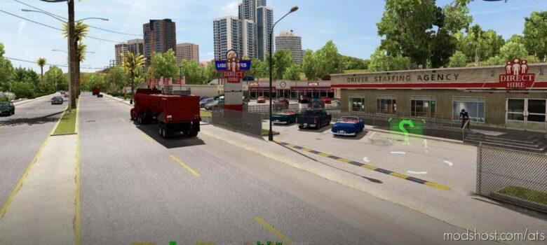 Coast To Coast Map V2.11.16 [1.41] for American Truck Simulator
