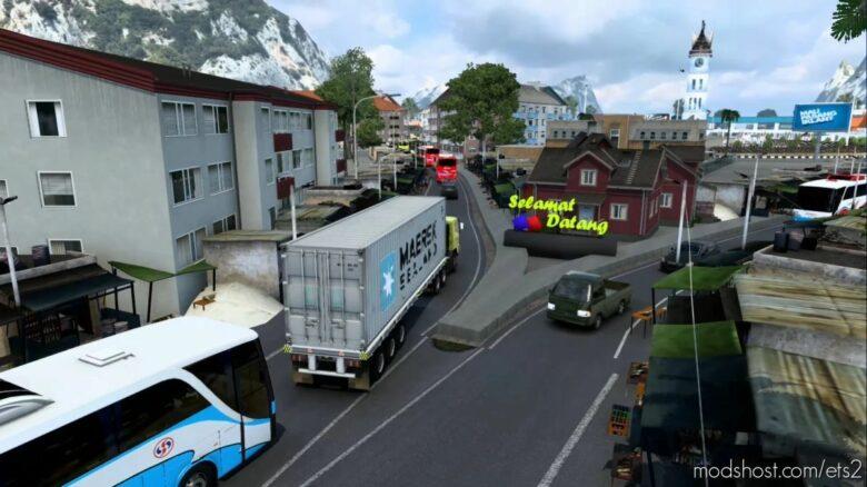 Map Sujali (Sumatra Jawa Bali) (BIG Map MOD) [1.41.X] for Euro Truck Simulator 2