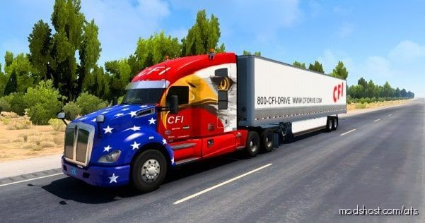 CFI Combo Skin [1.41] for American Truck Simulator
