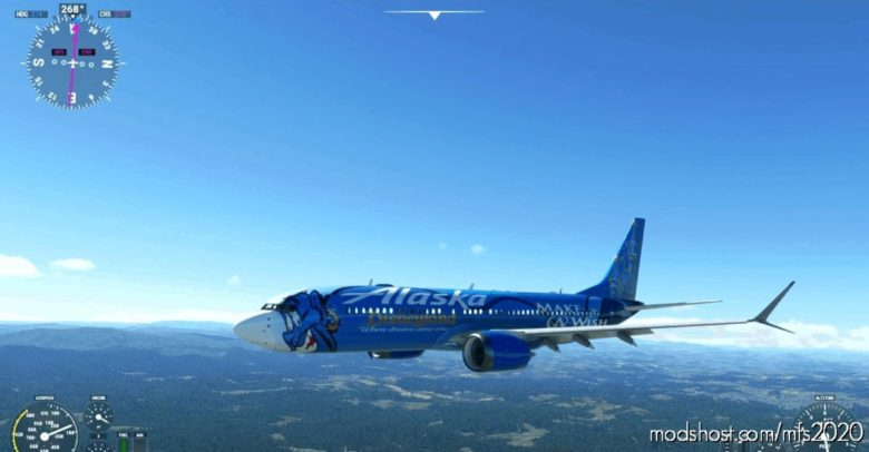 Alaska-Dw for Microsoft Flight Simulator 2020