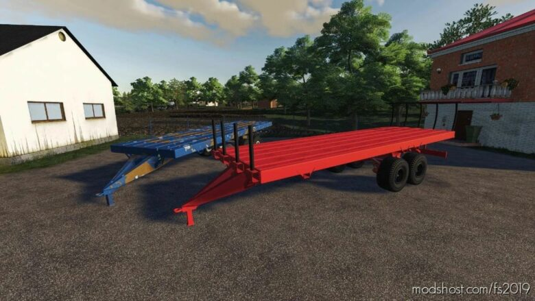 PRT-10 Platform Extended for Farming Simulator 19