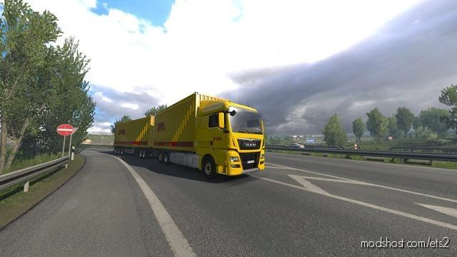 BDF Tandem Truck Pack V141.00 [1.41.X] for Euro Truck Simulator 2