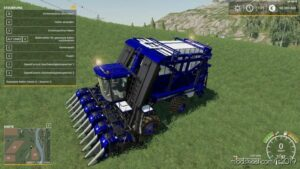 Case Module Express635 VON Holzwurm V2.0 for Farming Simulator 19