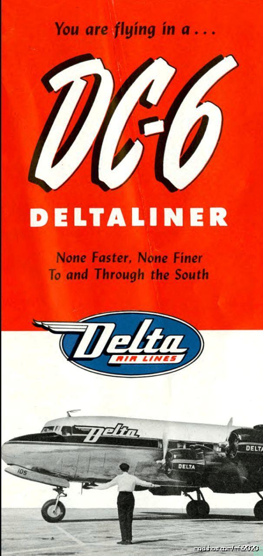 Self Loading Cargo DC-6B Delta AIR Line Cabin Layout 54 Seats for Microsoft Flight Simulator 2020