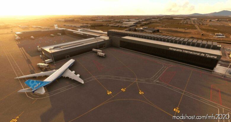 Tijuana Intl. Airport Mmtj V1.2 for Microsoft Flight Simulator 2020