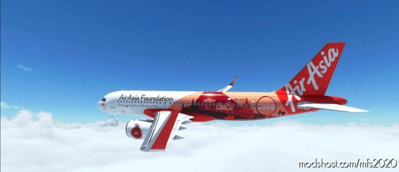 [A32NX] [NO Mirror] 9M-Aqi 9M-Aai (Fixed) for Microsoft Flight Simulator 2020