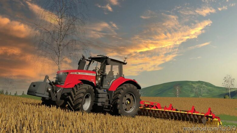 Massey Ferguson 7700S Edit for Farming Simulator 19