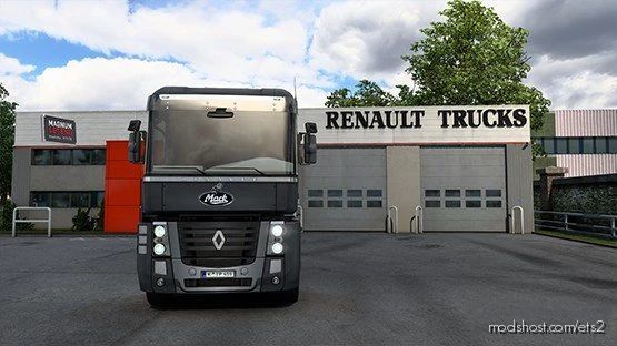 Renault Magnum Mack V8 E9 Open Pipe for Euro Truck Simulator 2