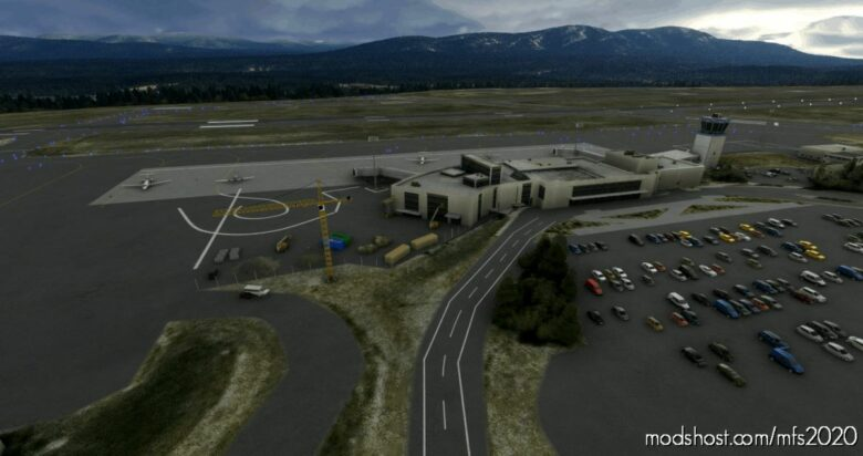Whitehorse Intl (Cyxy), Yukon, Canada for Microsoft Flight Simulator 2020
