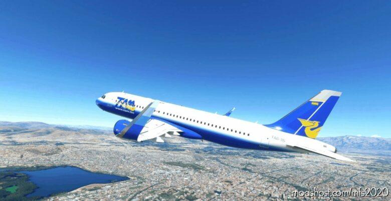 Transporte Aéreo Militar – Airbus A320Neo for Microsoft Flight Simulator 2020