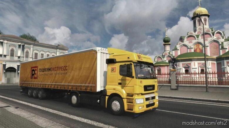 Kamaz 5490/65206 V2.1 [1.41.X] for Euro Truck Simulator 2