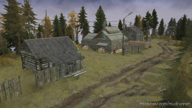 Forest Final Map for MudRunner
