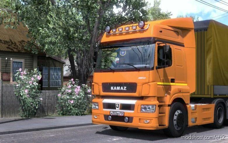 Kamaz 5490/65206 V2.2 [1.41.X] for Euro Truck Simulator 2