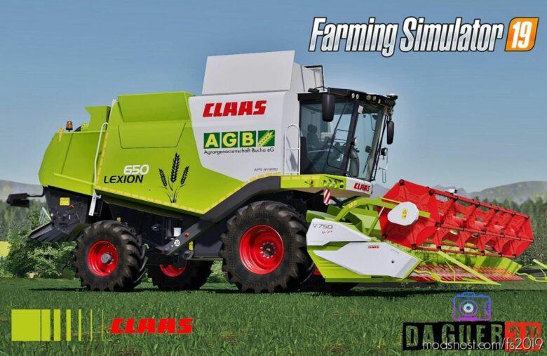 Claas Lexion 600 Serie for Farming Simulator 19