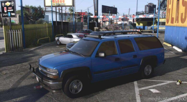 2001 Chevrolet Suburban for Grand Theft Auto V