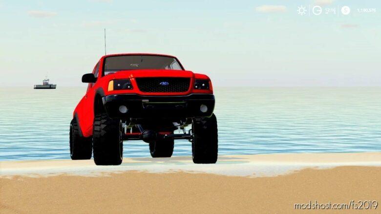 2011 Ford Ranger Pilot CAR for Farming Simulator 19