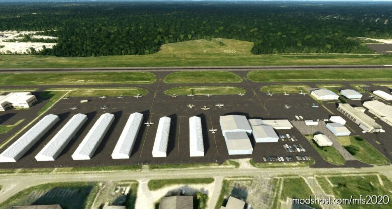 Kofp – Hanover County Municipal Airport for Microsoft Flight Simulator 2020