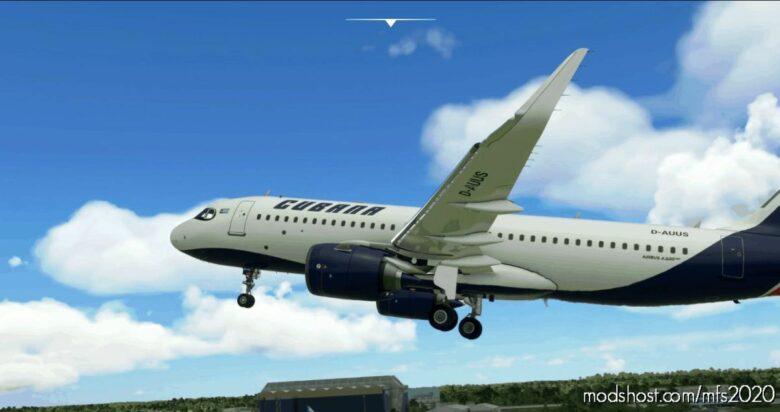 [A32NX] Cubana (Fictional) [4K] for Microsoft Flight Simulator 2020