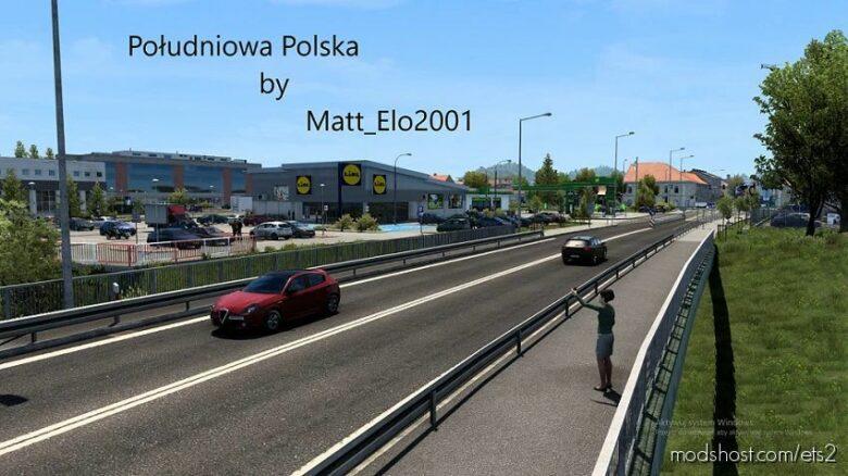Southern Poland V1.4 for Euro Truck Simulator 2