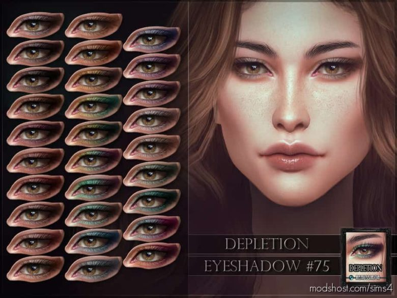 Depletion Eyeshadow for The Sims 4