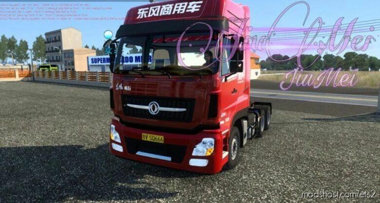 Dongfeng Changxing D7V [1.40 – 1.41] for Euro Truck Simulator 2