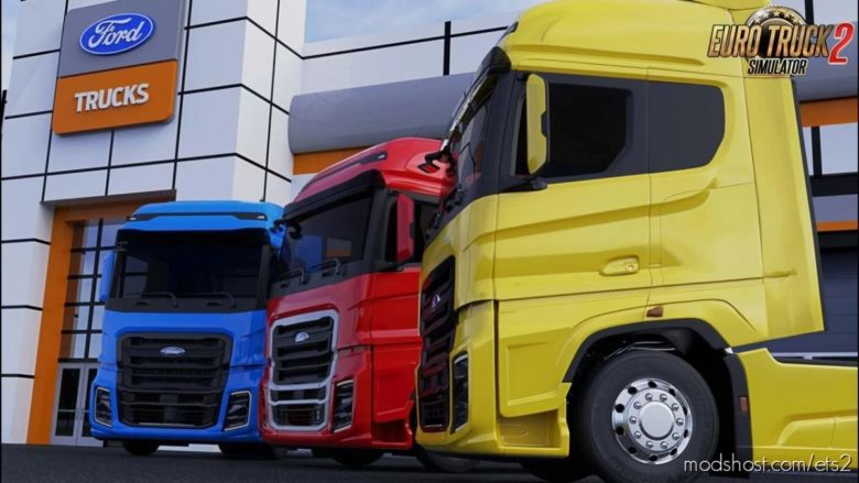 Ford Trucks F-Max V2.2 [1.41.X] for Euro Truck Simulator 2