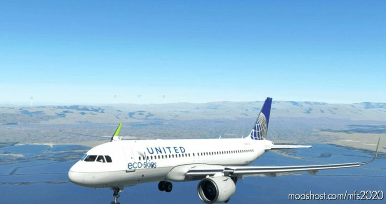 [A32NX] United Eco-Ekies for Microsoft Flight Simulator 2020