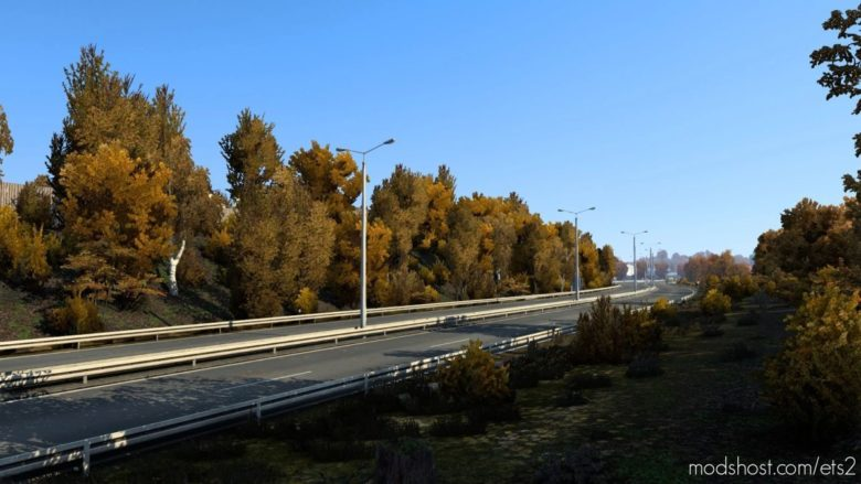 Autumn Mod for Euro Truck Simulator 2