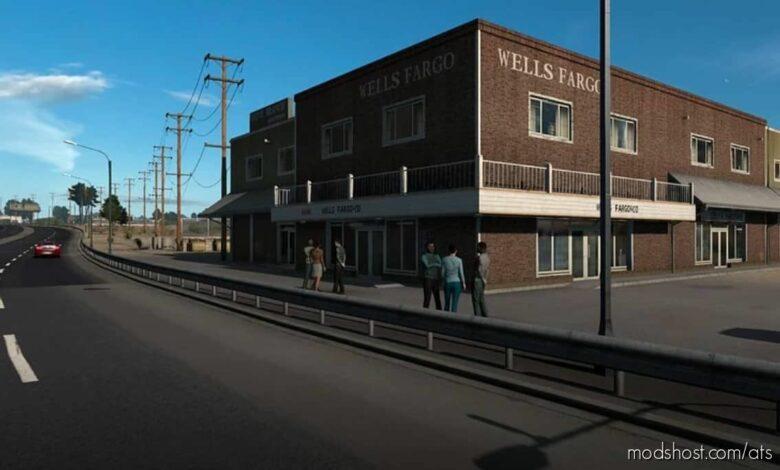 Realistic Corner Shops V1.2 for American Truck Simulator