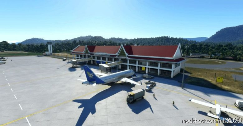 Vllb, Luang Prabanng International Airport for Microsoft Flight Simulator 2020