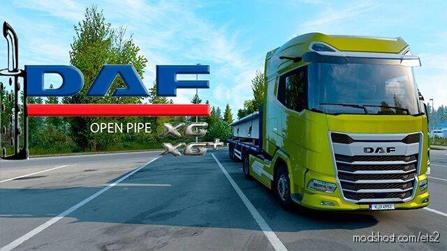 DAF XG Open Pipe Sound [1.41.X] for Euro Truck Simulator 2