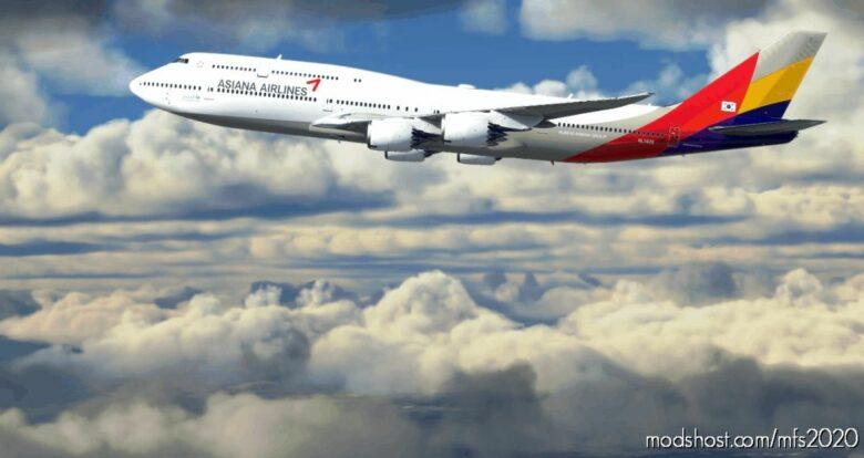 Asiana Airlines B747-8 (NOT Mirrored) for Microsoft Flight Simulator 2020