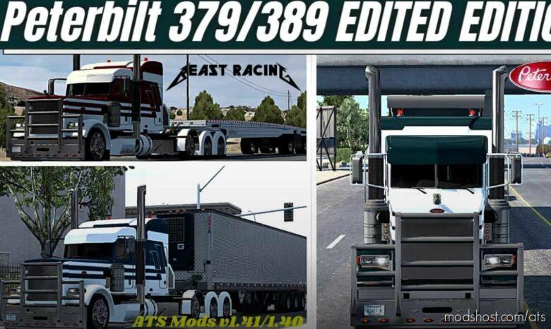 Custom Peterbilt 379/389 Thunderstorm Edited [1.41] for American Truck Simulator