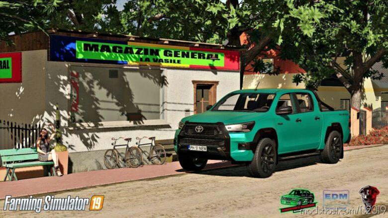 Toyota Hilux Invincible 2021 for Farming Simulator 19