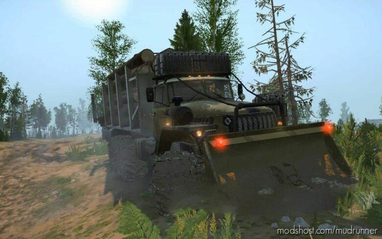 Ural 4320 Phantom Truck for MudRunner