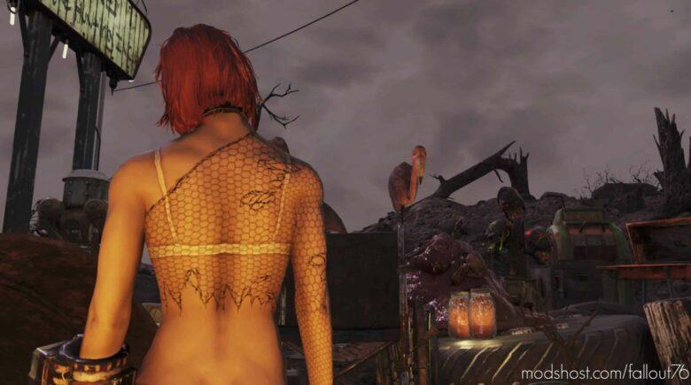 Fishnet For Female Body for Fallout 76