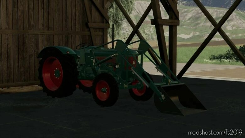 Ausklinklader for Farming Simulator 19