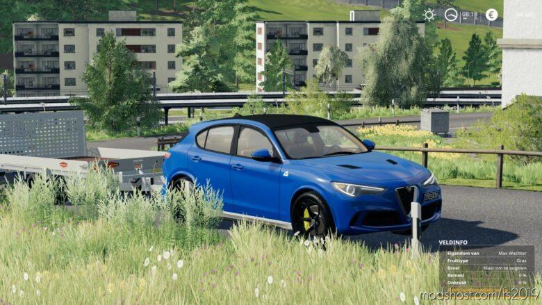 Alfa Romeo Stelvio Q 2018 V1.1 for Farming Simulator 19