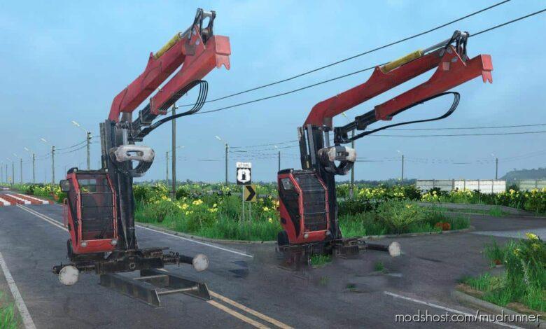 Cranes For Logs for MudRunner