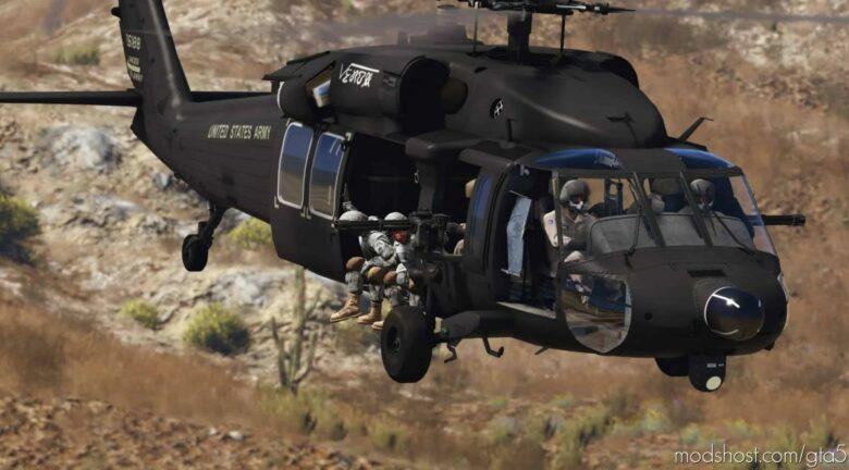 "MH-60L Black Hawk ""Battle Of Mogadishu"" for Grand Theft Auto V"