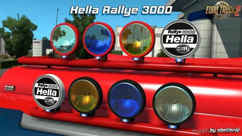 Hella Rallye 3000 V1.6 [1.40] for Euro Truck Simulator 2