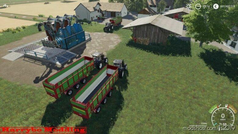 Compound Feed System V1.1 for Farming Simulator 19