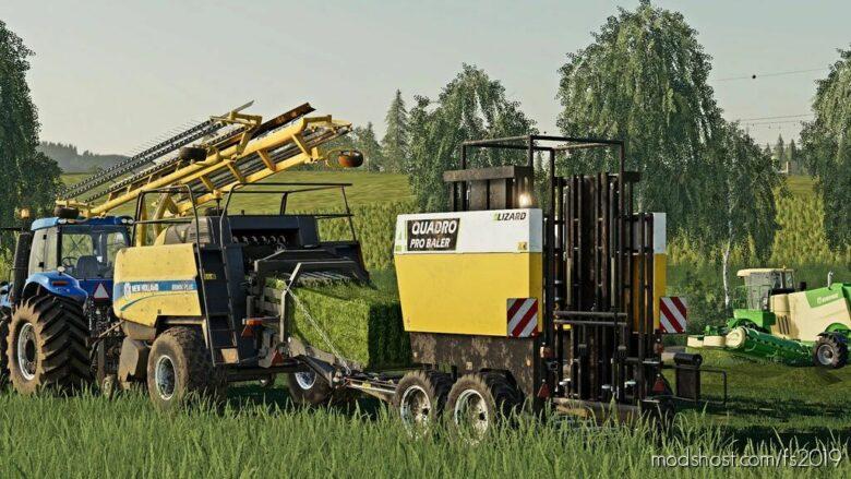 Quadro PRO Baler Pack for Farming Simulator 19